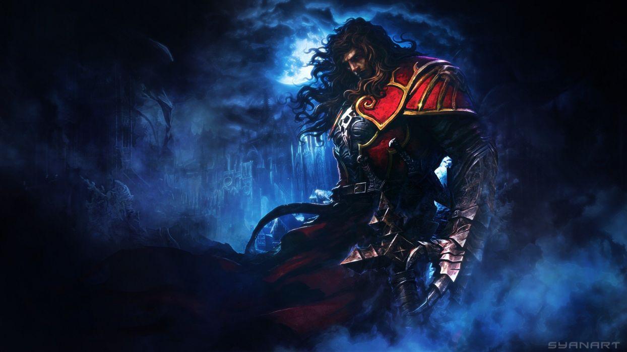 video games fantasy art artwork Castlevania: Lords of Shadow Gabriel Belmont wallpaper