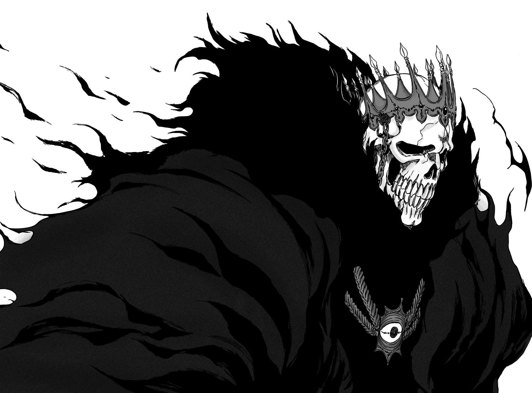Bleach Skull Wallpaper Skulls Bleach Espada Barragan