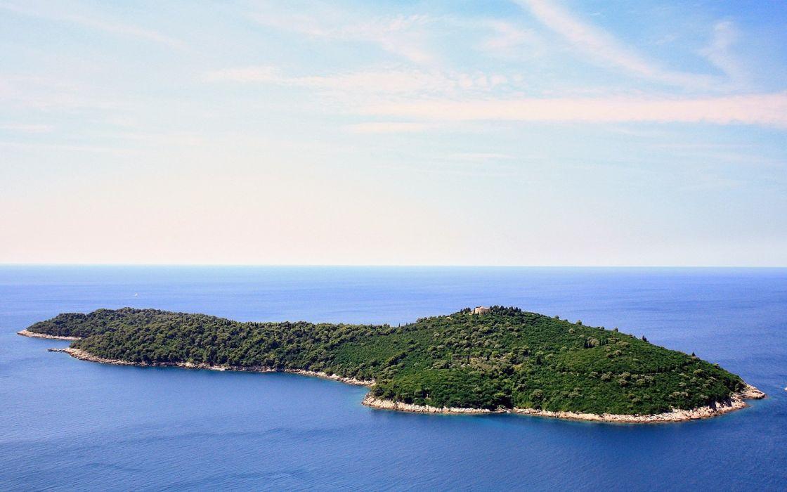 water landscapes islands wallpaper