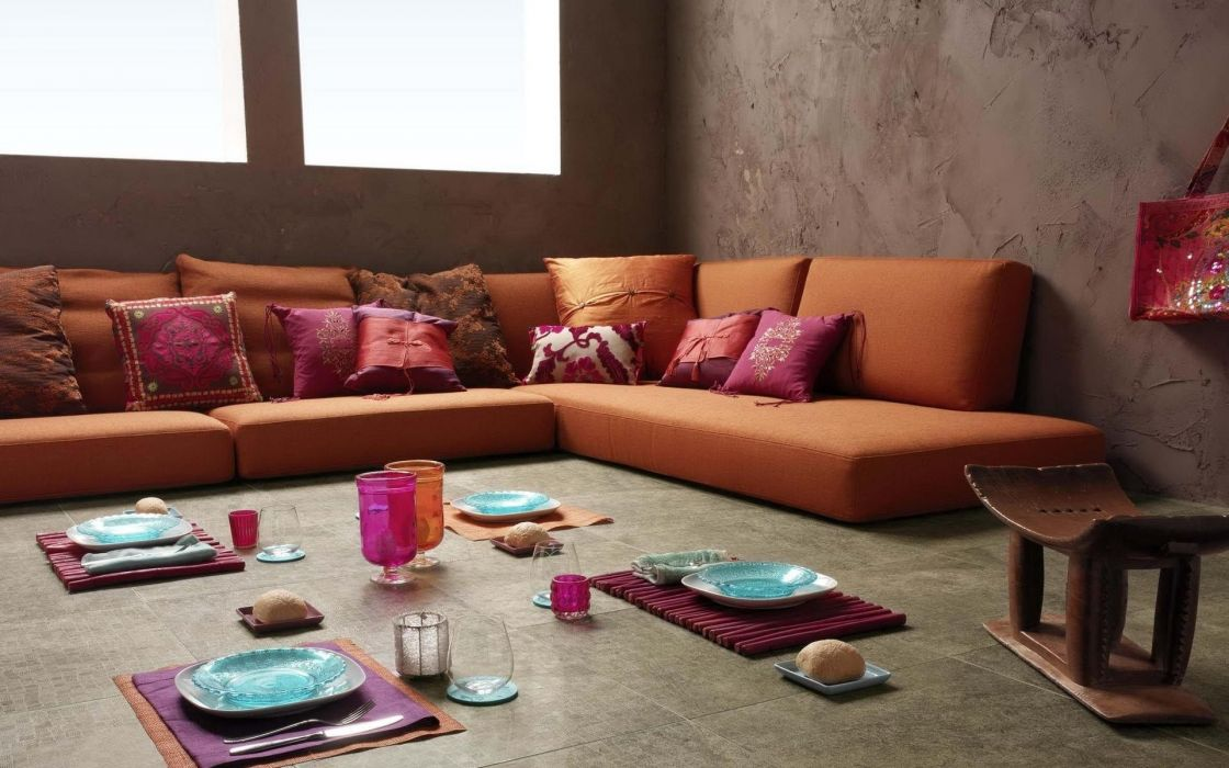 couch glass food design houses pillows wallpaper
