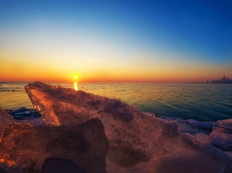 ice ocean wallpaper