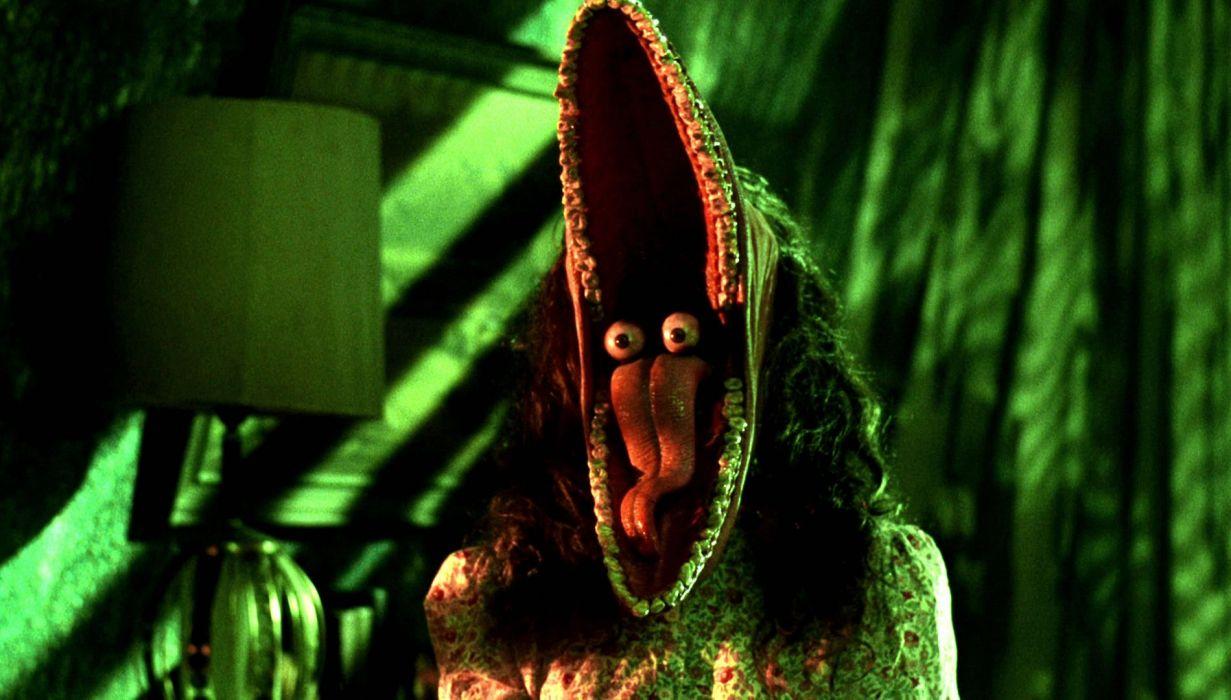 BEETLEJUICE comedy fantasy dark movie film monster horror wallpaper