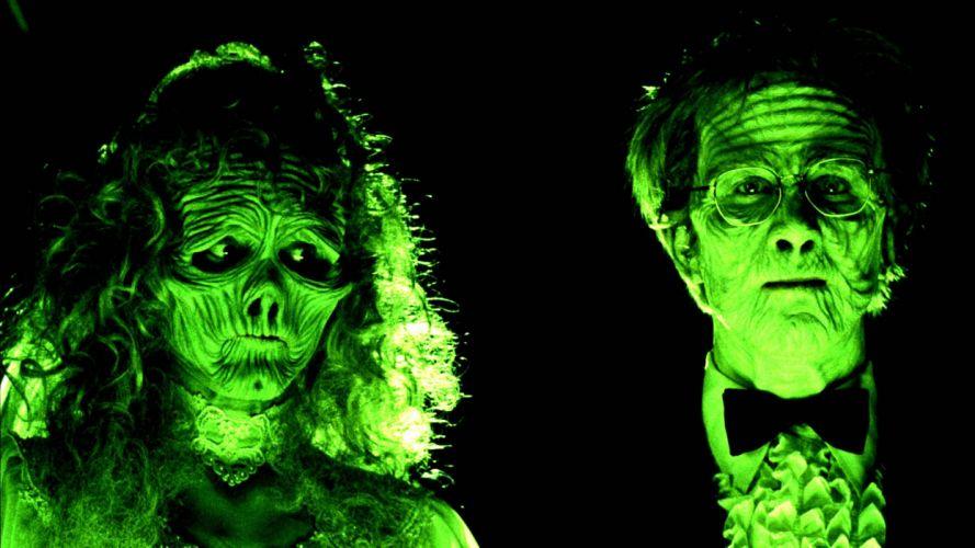 BEETLEJUICE comedy fantasy dark movie film monster horror halloween skeleton skull wallpaper