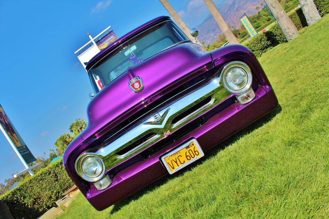 1956 Ford Pickup Truck wallpaper