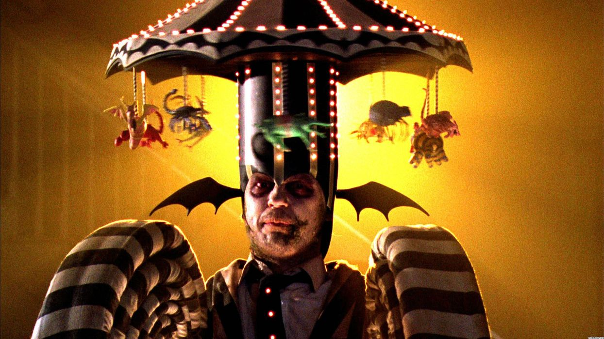 BEETLEJUICE comedy fantasy dark movie film horror halloween monster wallpaper