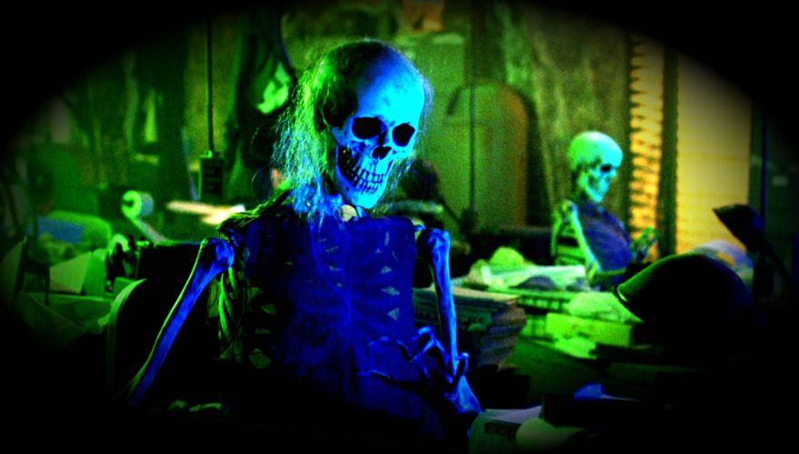 BEETLEJUICE comedy fantasy dark movie film horror skull skeleton halloween wallpaper