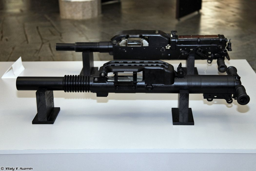 6G28 and 6G26 automatic grenade launchers wallpaper