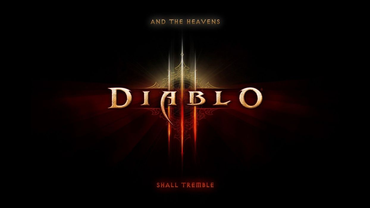 Diablo III logos wallpaper