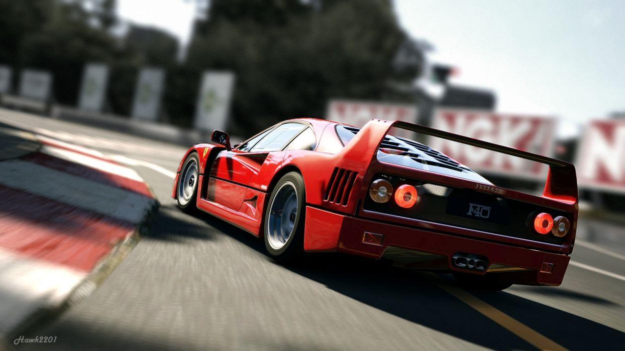 video games cars Ferrari vehicles races speed wallpaper