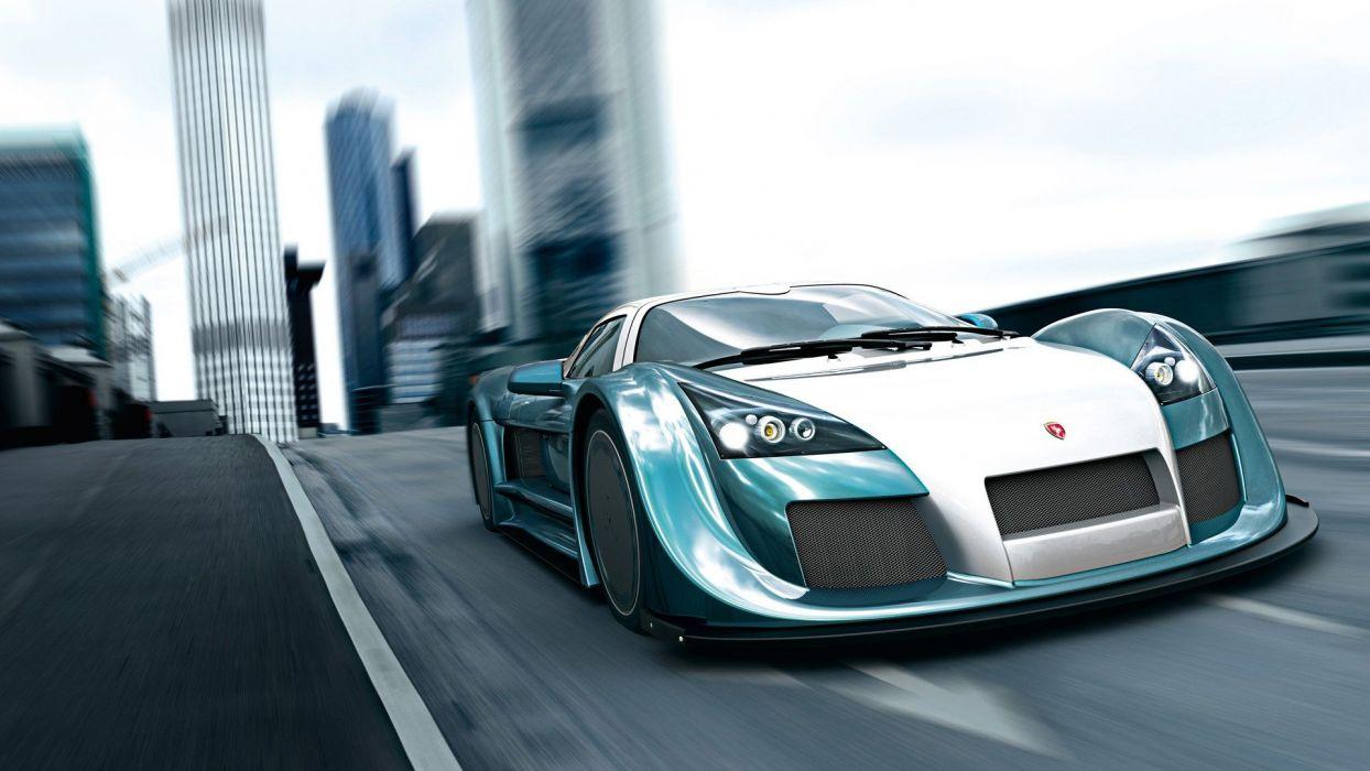 cars sports Gumpert Apollo speed wallpaper