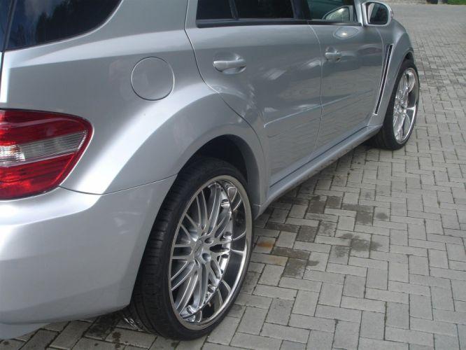 silver supercars tuning gladiator Mercedes-Benz ASMA wallpaper