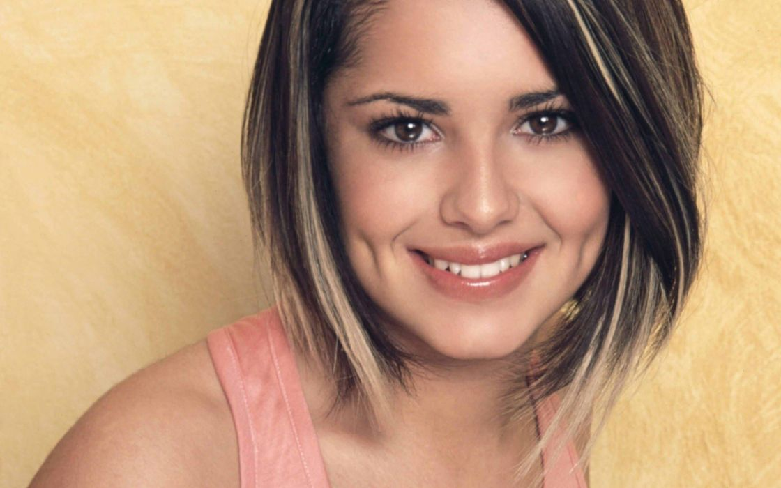 lingerie brunettes women models Cheryl Cole smiling faces wallpaper