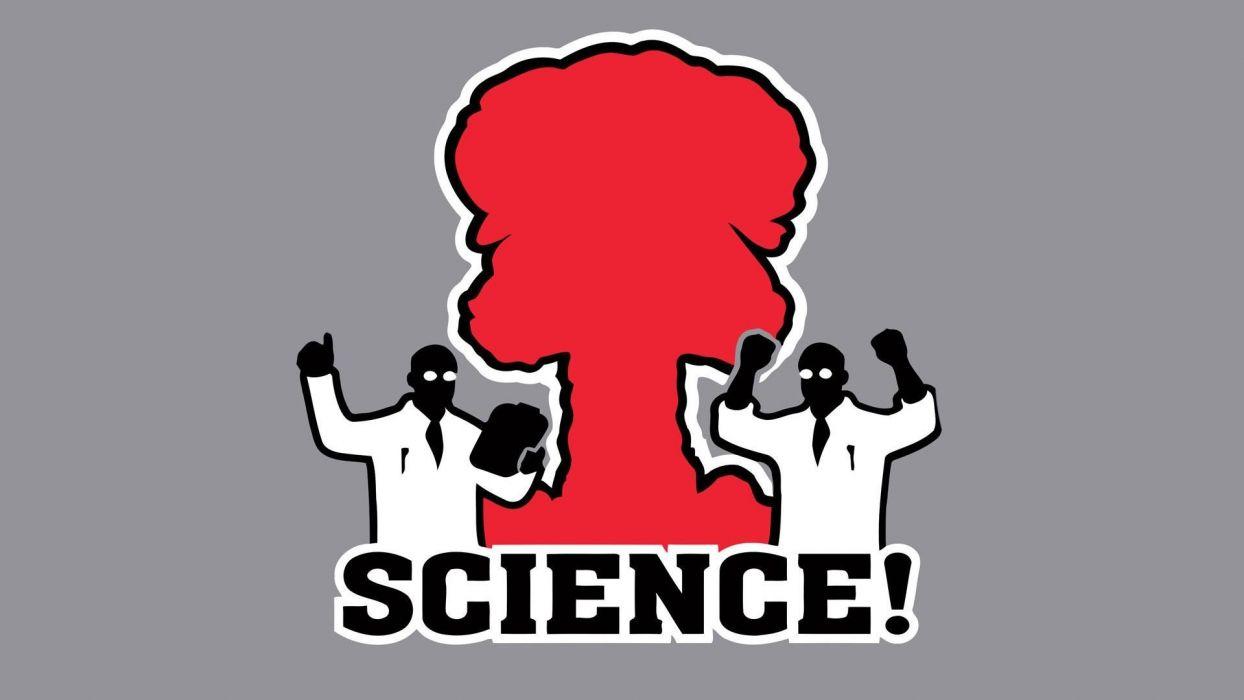 science minimalistic funny wallpaper
