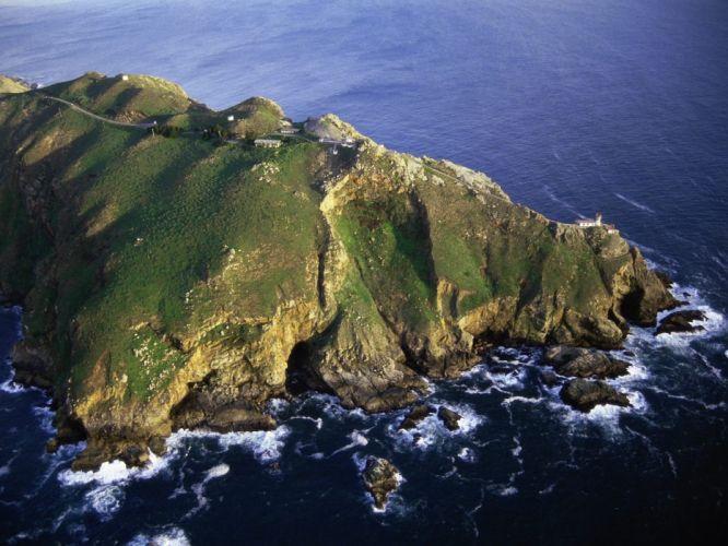 landscapes California islands national sea shorelines wallpaper