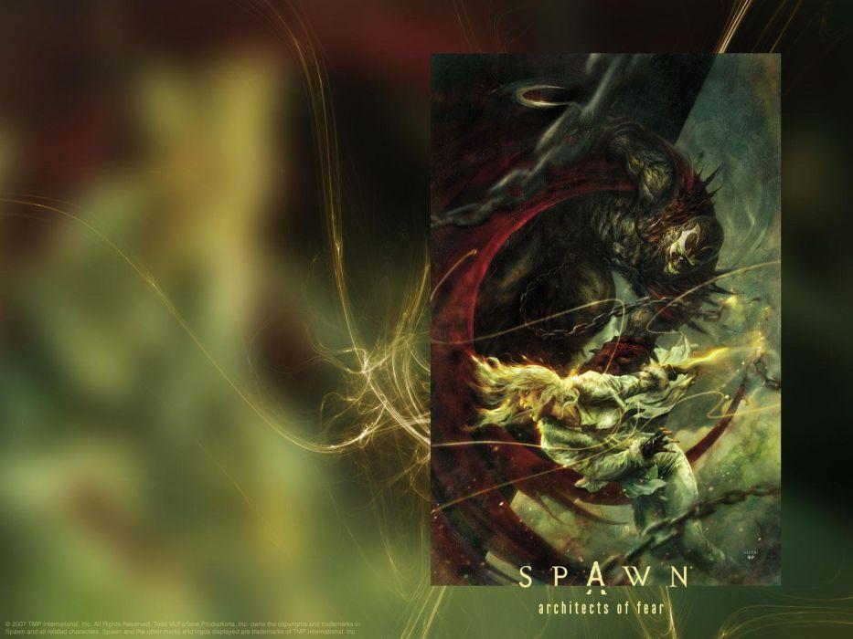 Spawn artwork Todd McFarlane wallpaper