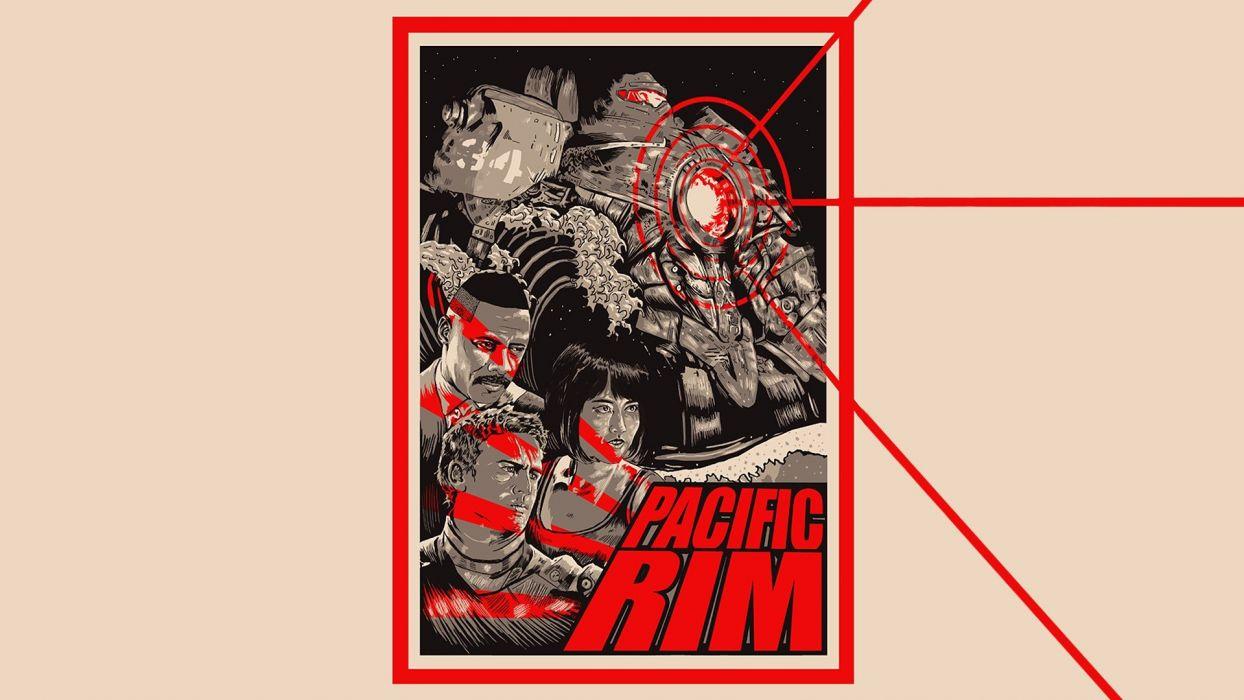 movies fan art Pacific Pacific Rim Guillermo Del Toro wallpaper