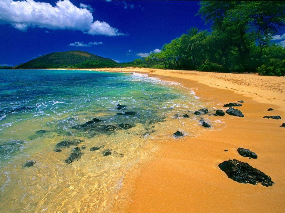 nature beaches wallpaper