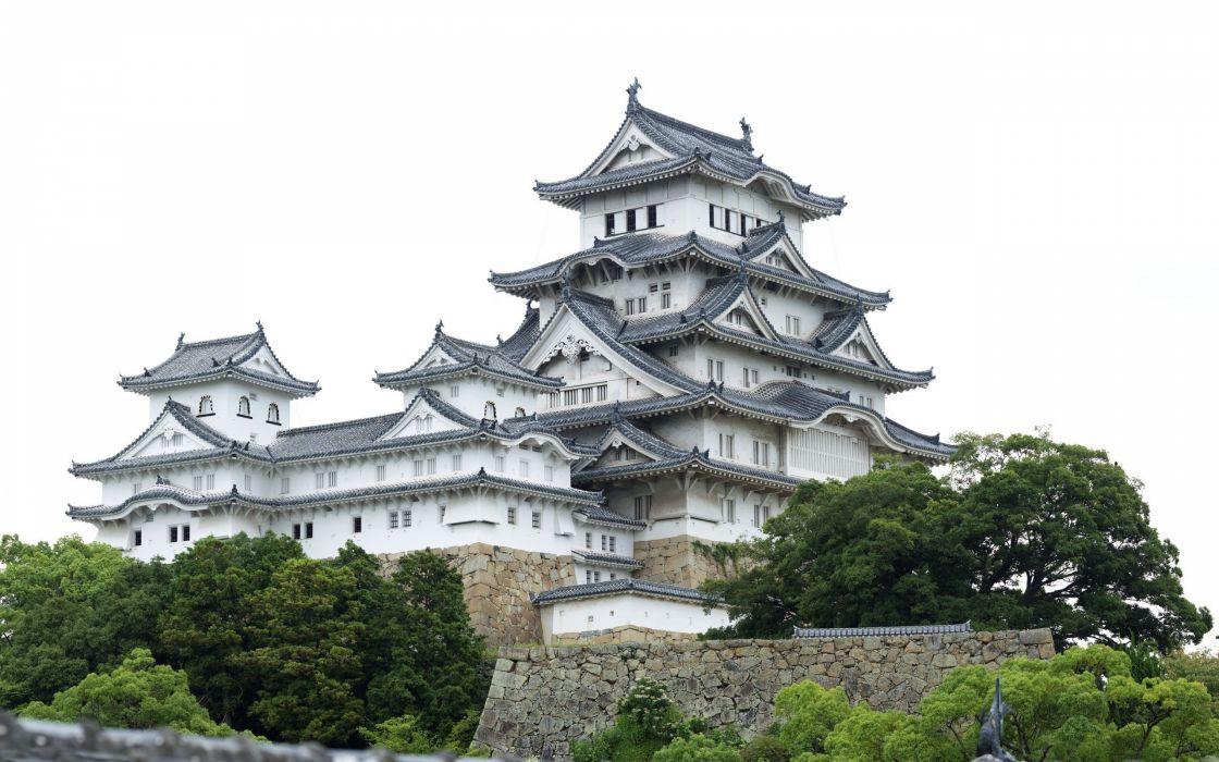 Japan castles architecture Osaka house Osaka Castle wallpaper