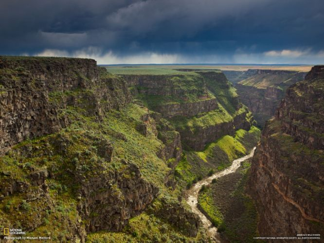 landscapes Earth system National Geographic Idaho wallpaper