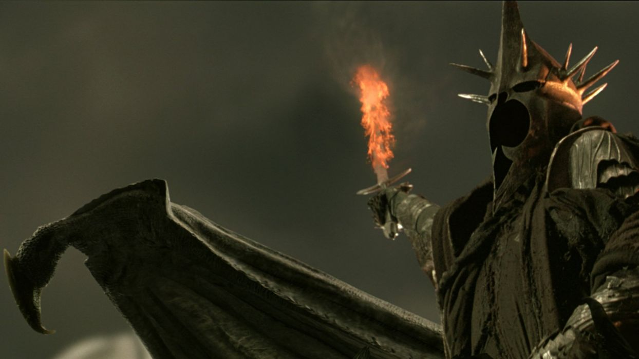The Lord Of The Rings Nazgul The Witch King Ringwraith The Return