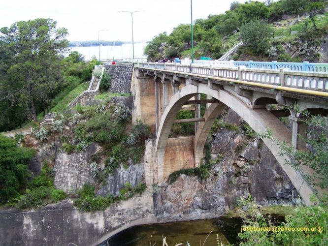 mountains landscapes Argentina bridges lakes wallpaper