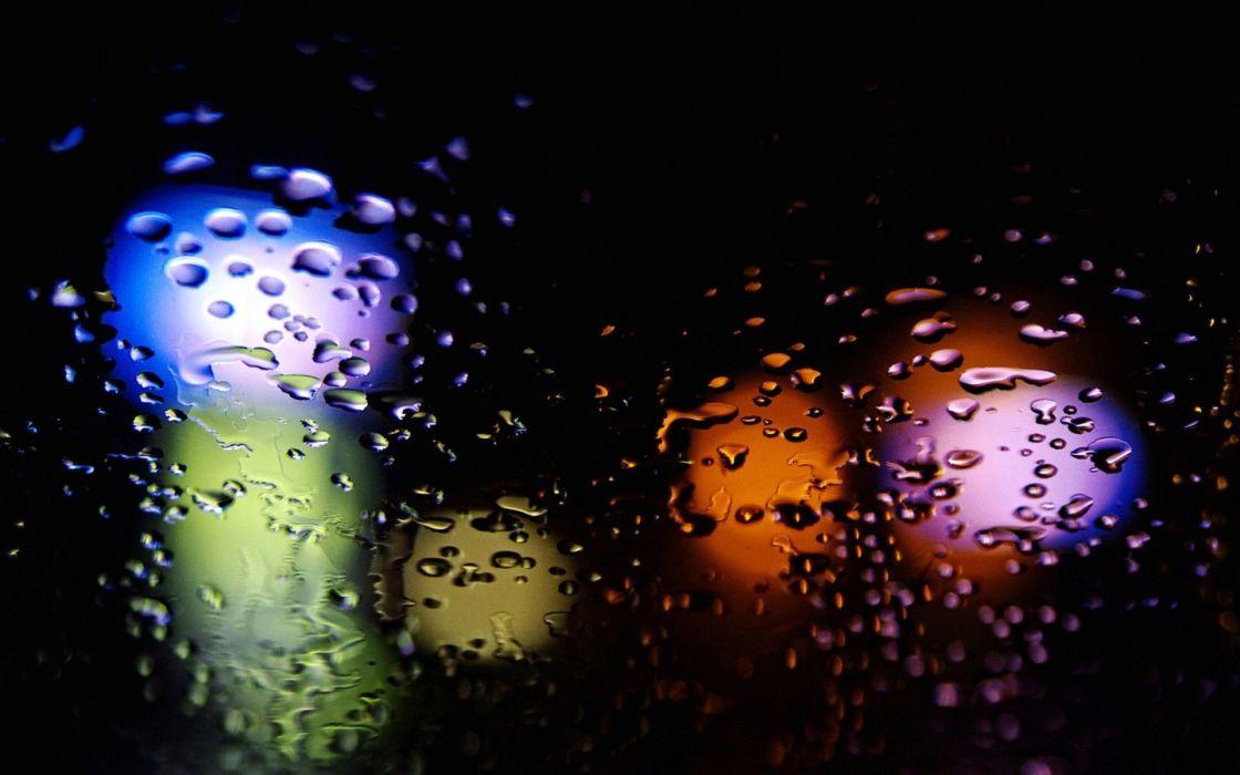 rain colors wallpaper