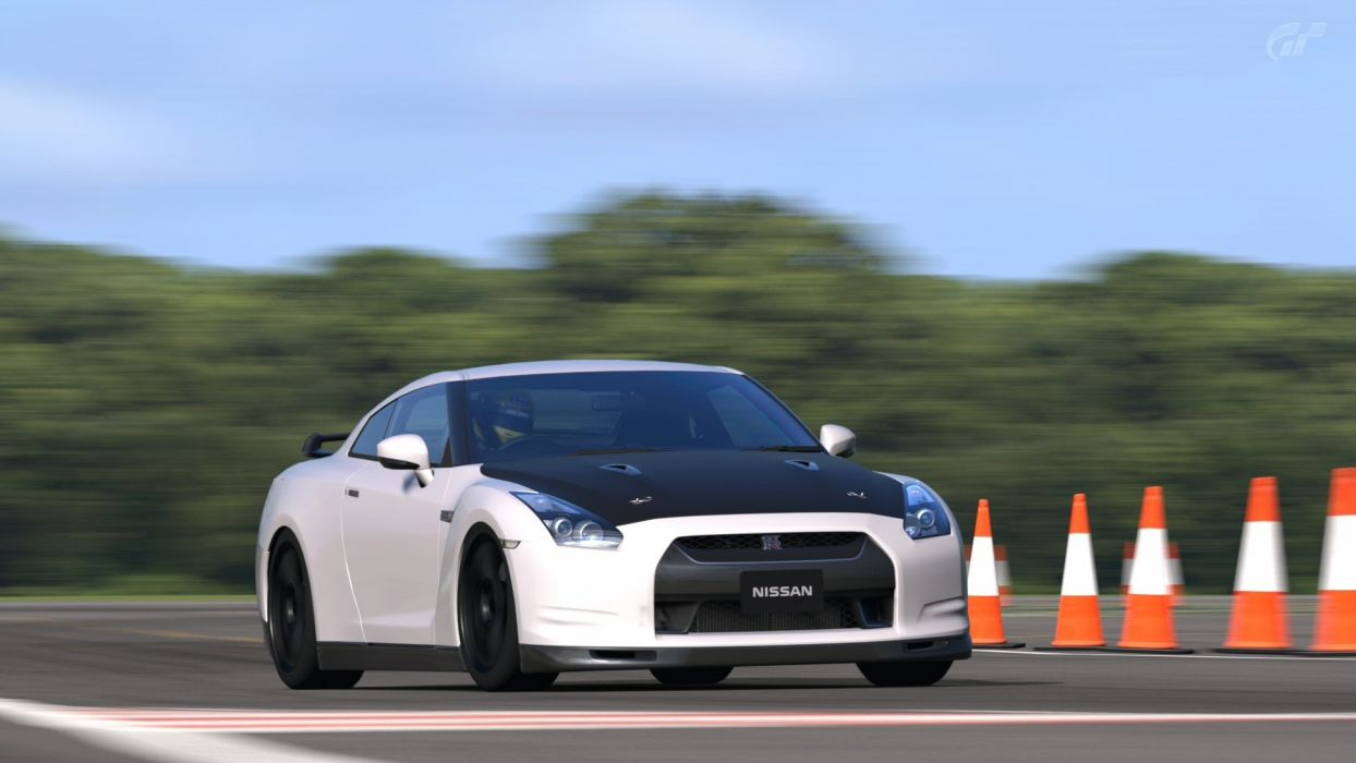 video games cars Gran Turismo 5 Playstation 3 Nissan GTR Spec-V wallpaper