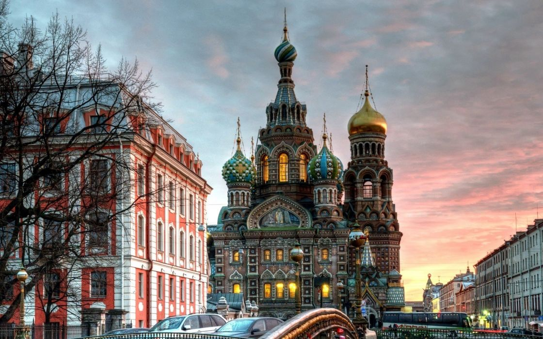 castles architecture Russia HDR photography Saint Petersburg cities wallpaper