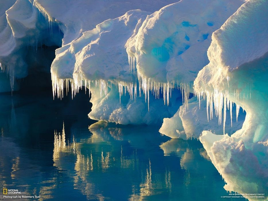 ice nature National Geographic wallpaper