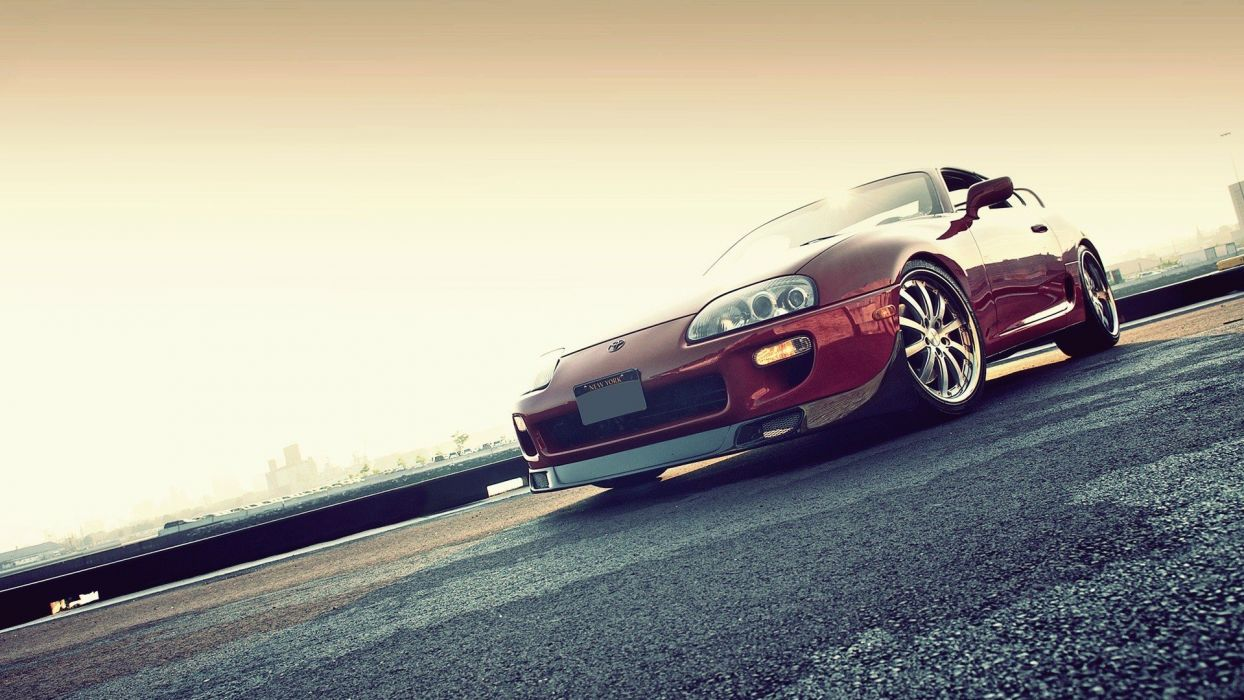 black red cars sports Toyota outdoors vehicles supercars turbo Toyota Supra automotive automobiles exotic cars supra mkIV Toyota Supra Turbo wallpaper