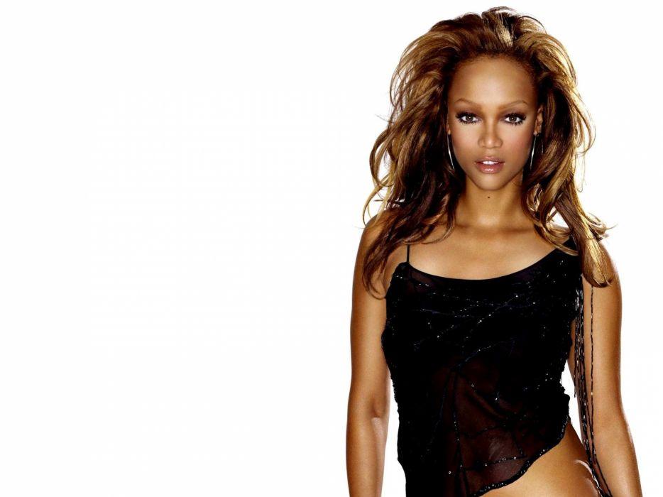 women models Tyra Banks wallpaper