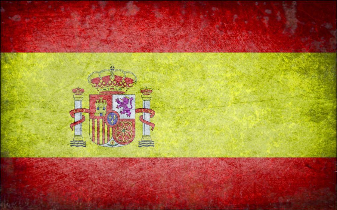 flags Spain wallpaper