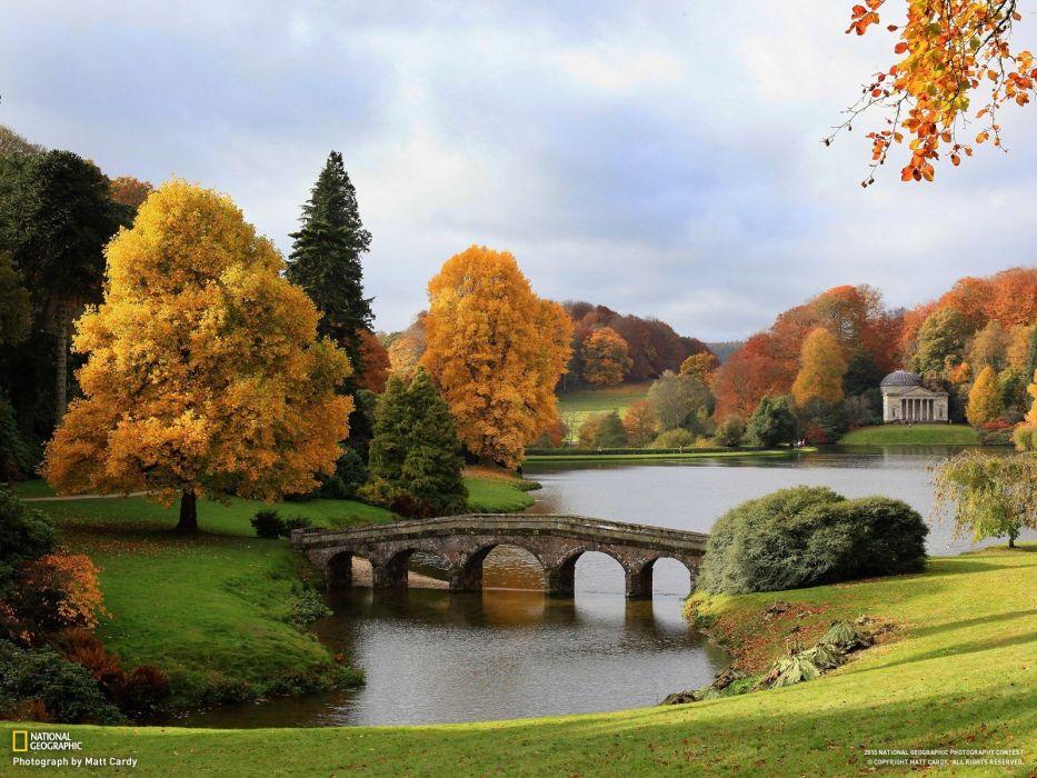 nature autumn England bridges National Geographic wallpaper