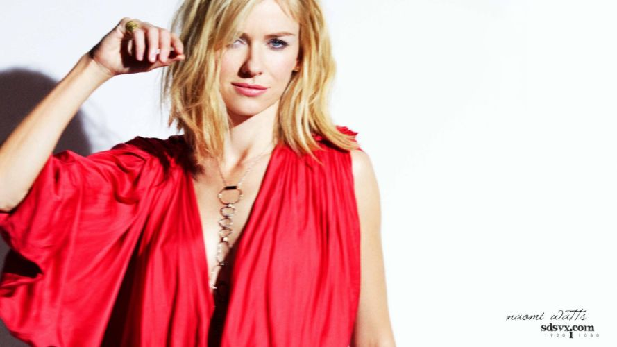 models Naomi Watts white background wallpaper