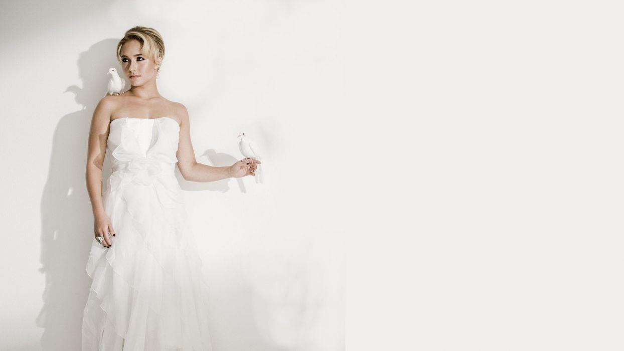 blondes women dress Hayden Panettiere models wallpaper