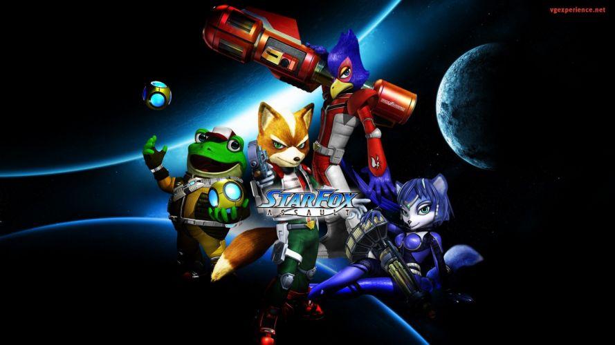planets assault Star Fox wallpaper