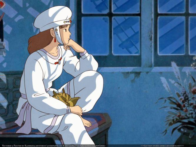 Studio Ghibli pajamas Nausicaa of the Valley of the Wind wallpaper