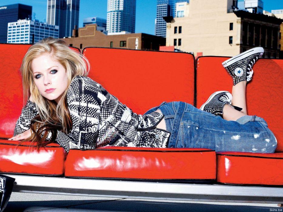 blondes Avril Lavigne wallpaper