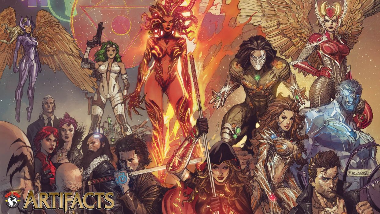 Witchblade The Darkness Top Cow wallpaper