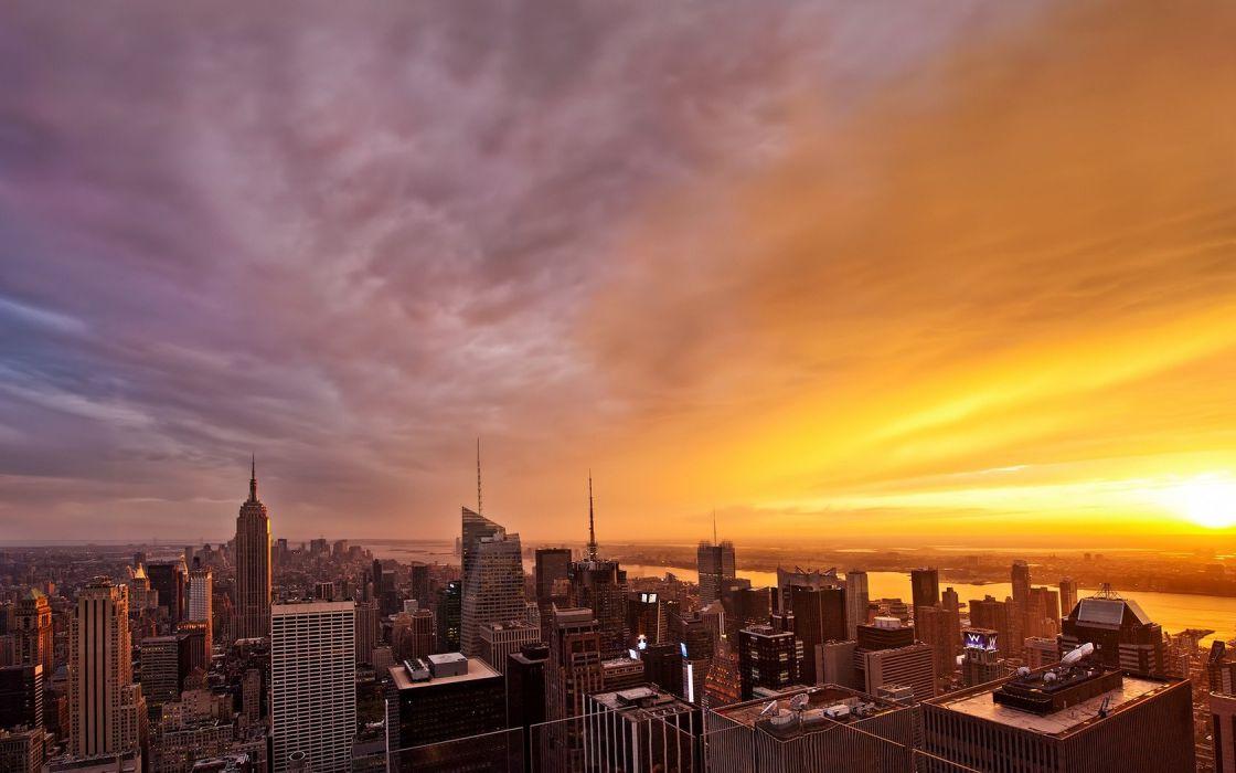 cityscapes city skyline wallpaper