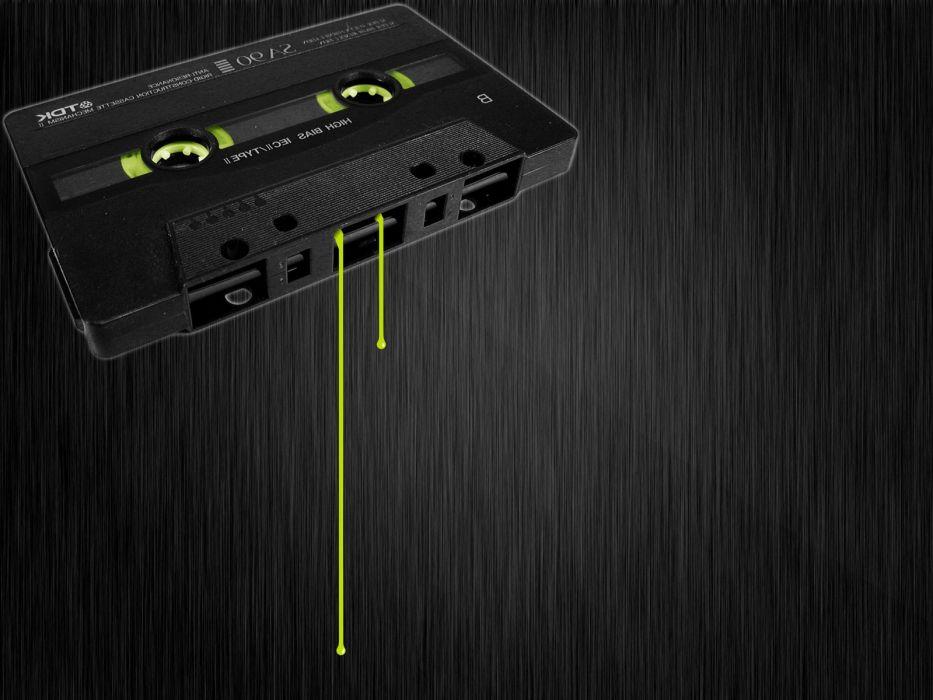 old cassette tape wallpaper