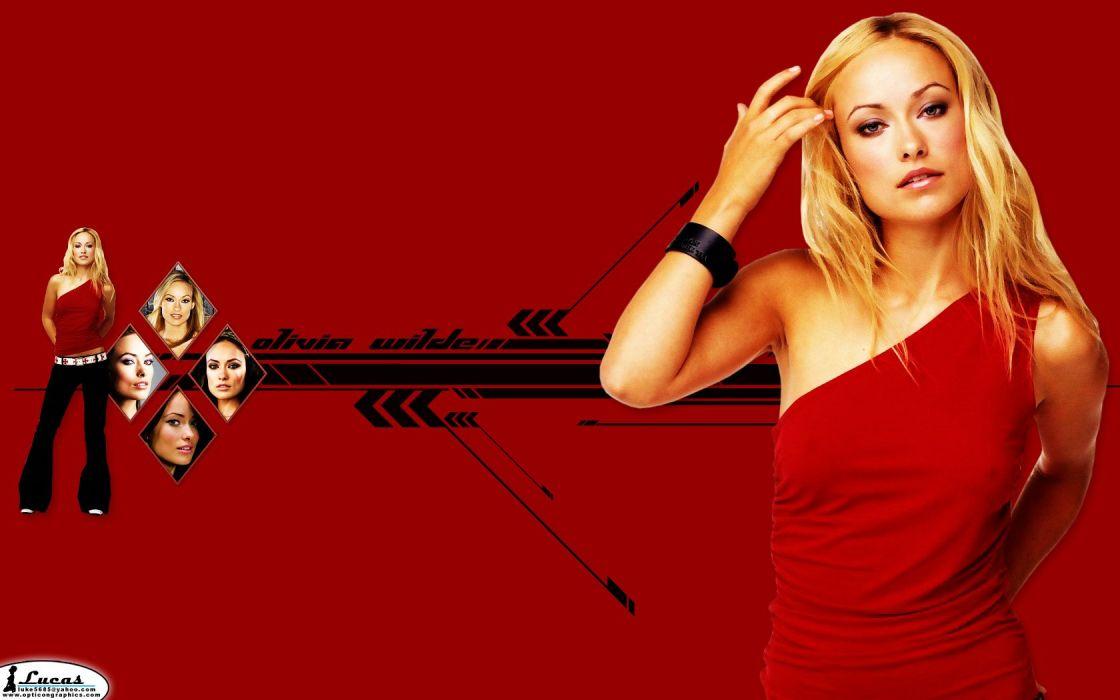 blondes women models Olivia Wilde wallpaper