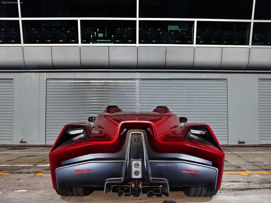cars Spada Codatronca Monza wallpaper