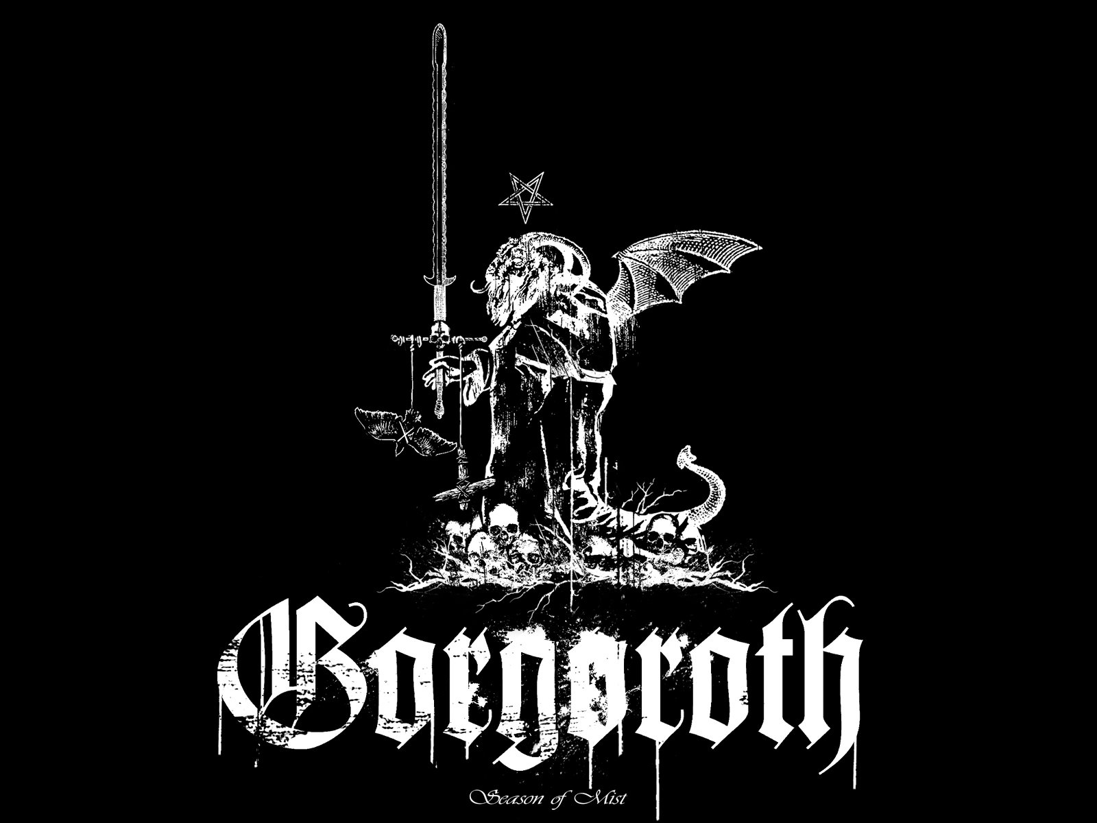 Black metal gorgoroth wallpaper 1600x1200 297794 - Black metal wallpaper ...