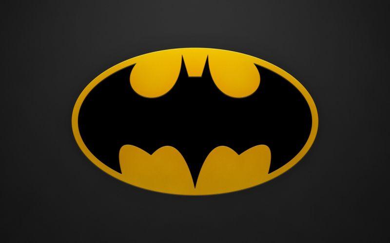 Batman minimalistic DC Comics logos Batman Logo wallpaper