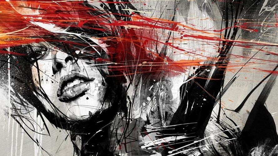 women paintings artistic design digital art artwork wallpaper