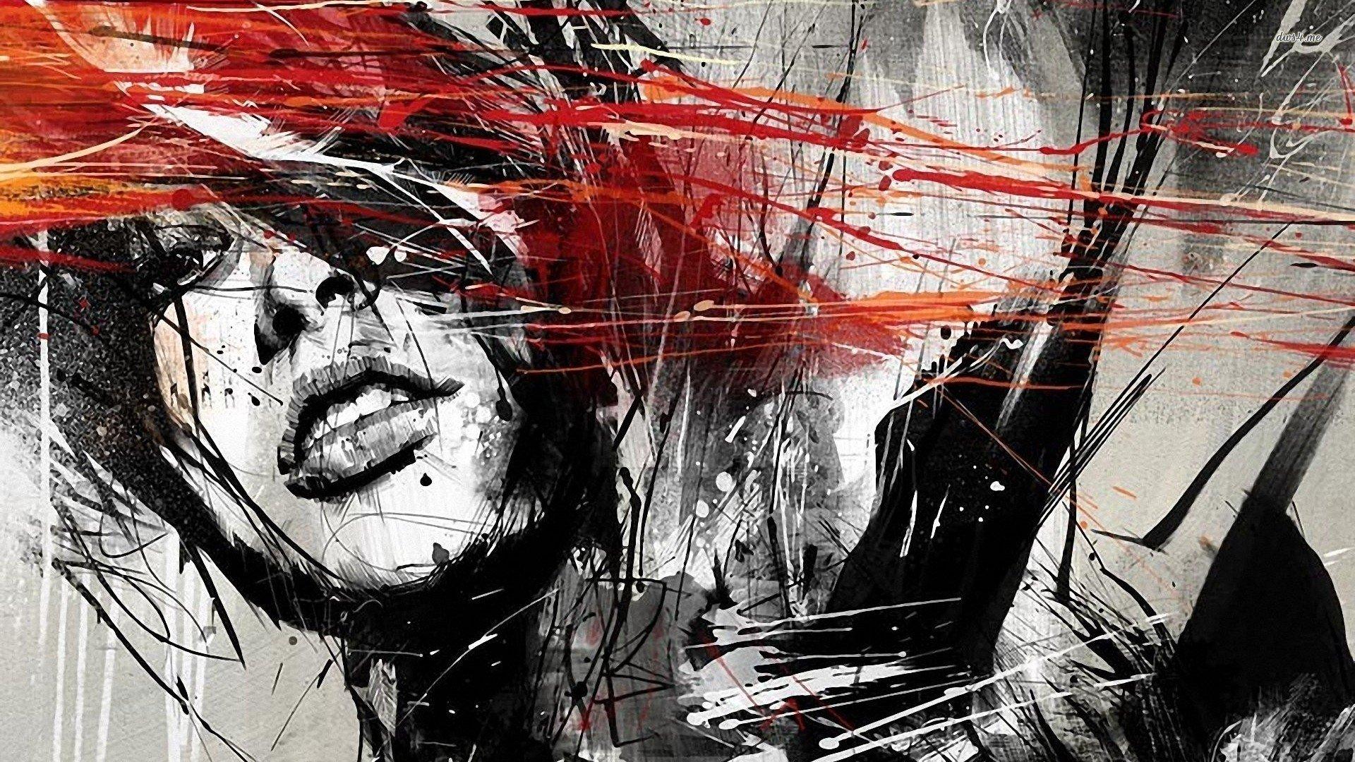 Women Paintings Artistic Design Digital Art Artwork