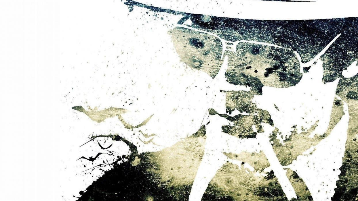 artwork Hunter S_ Thompson Alex Cherry wallpaper