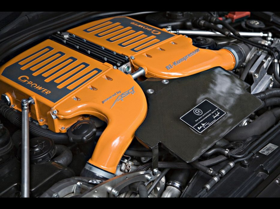 engines BMW M6 hurricane wallpaper