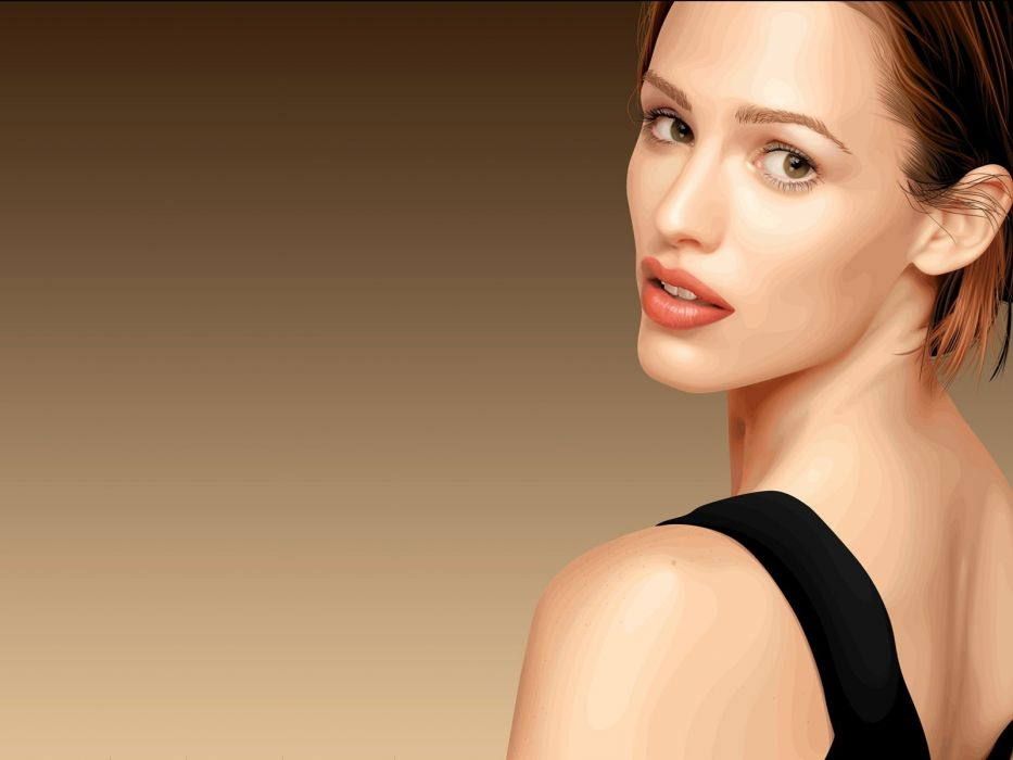 women vectors Jennifer Garner wallpaper